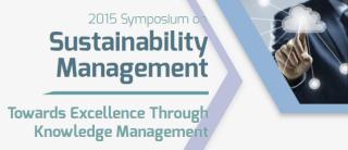 Symposium on Sustainability Management  – Towards Excellence through Knowledge Management